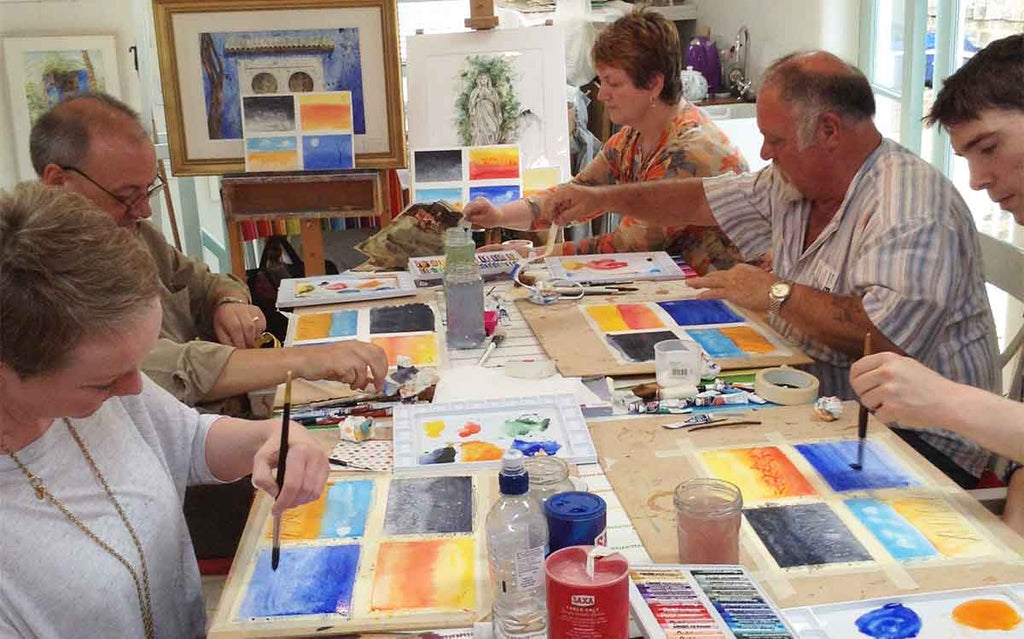 Harrogate art courses with tuition by Anita Bowerman