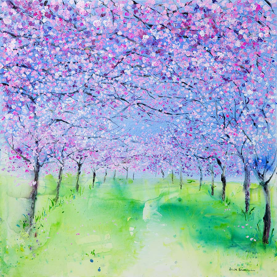 Cherry Blossom Tree Spectacle (Limited Edition Canvas Print)