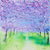 Cherry Blossom Tree Spectacle (Original Painting, Unframed)