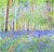 Bluebell Woods in Spring (Original Painting, Unframed)