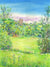 Fountains Abbey in Summer, Turners View (Original Painting, Unframed)