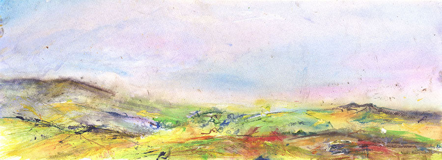 The Mist and Magic of the Dales (Original Painting, Unframed)