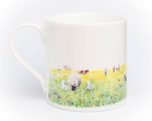 The Hay Meadows, Summer - Fine Bone China Cup