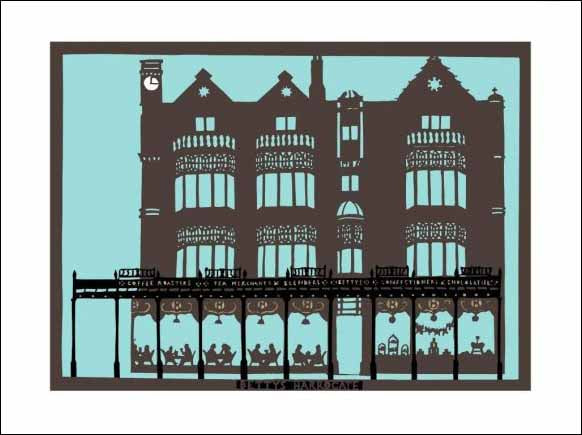 Bettys Harrogate, unframed Giclée limited edition print