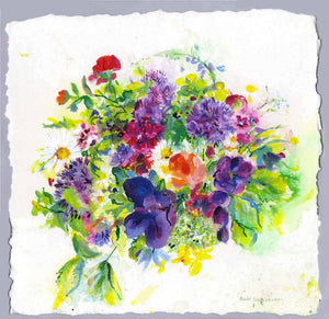 Bouquet of Flowers, unframed original painting