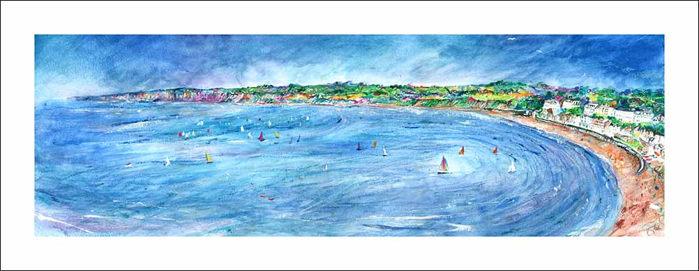 From the Brigg at Filey, unframed Giclée limited edition print