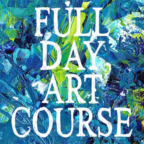 Full day Harrogate art course by Anita Bowerman