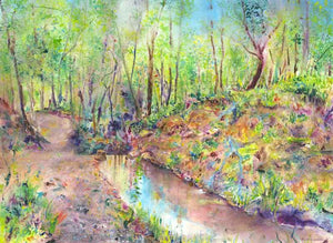 Hackfall Woods, Ripon, unframed giclée limited edition print