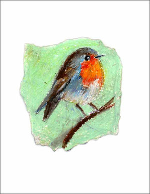 Robin, unframed Giclée limited edition print