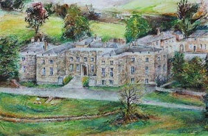 Splendid Hazlewood Castle, unframed Giclée limited edition print