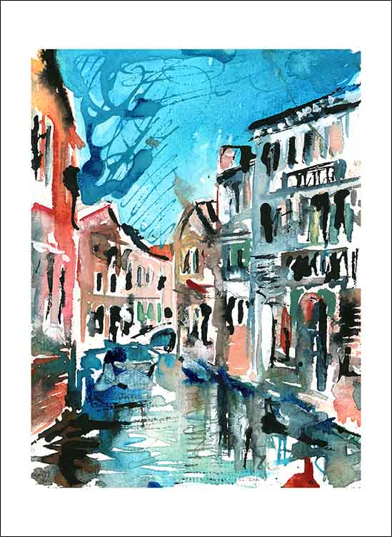 The Colours of Venice, unframed Giclée limited edition print