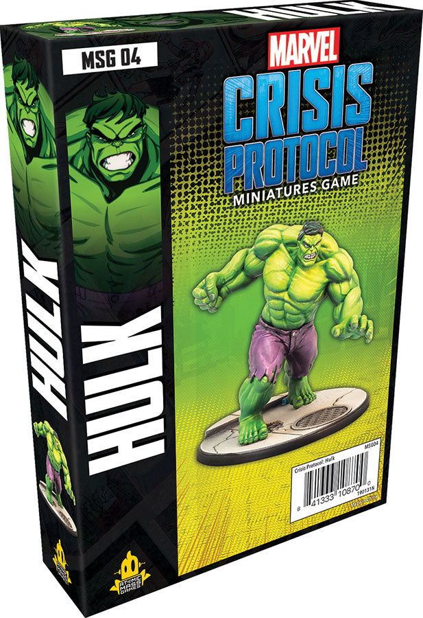 Marvel: Crisis Protocol - Hulk Character Pack - Indigo Chase Specialties