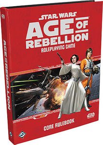 Star Wars RPG: Age of Rebellion - Core Rulebook Hardcover - Indigo Chase Specialties