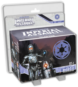 Star Wars Imperial Assault: BT-1 and 0-0-0 Villain Pack - Indigo Chase Specialties