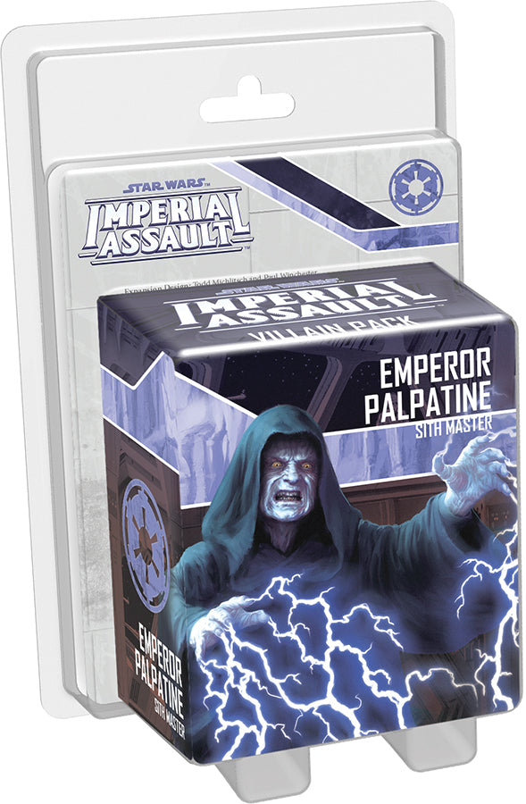 Star Wars Imperial Assault: Emperor Palpatine Villain Pack - Indigo Chase Specialties