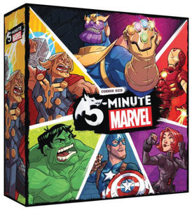 5 Minute Marvel Board Game - Indigo Chase Specialties