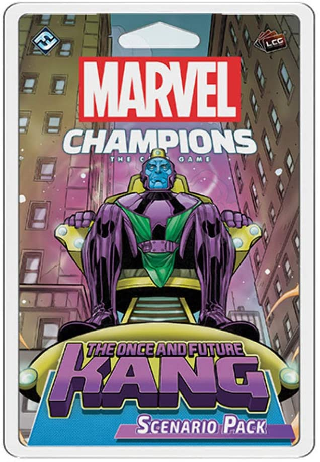 Marvel Champions: The Once and Future Kang - Indigo Chase Specialties