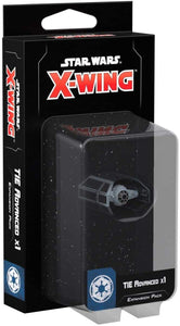 Star Wars X-Wing 2nd Edition: TIE Advanced x1 Expansion Pack - Indigo Chase Specialties