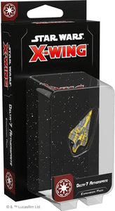 Star Wars X-Wing 2nd Edition: Delta-7 Aethersprite Expansion Pack - Indigo Chase Specialties