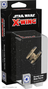 Star Wars X-Wing 2nd Edition: Vulture-class Droid Fighter Expansion - Indigo Chase Specialties