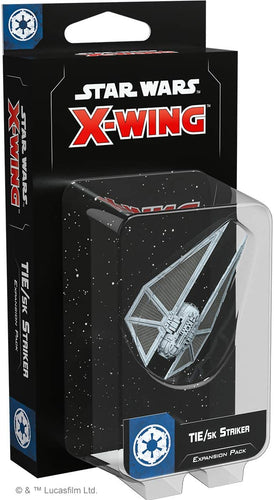 Star Wars X-Wing 2nd Edition: TIE/sk Striker Expansion Pack - Indigo Chase Specialties