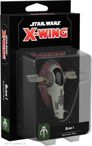 Star Wars X-Wing 2nd Edition: Slave I Expansion Pack - Indigo Chase Specialties