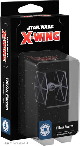 Star Wars X-Wing 2nd Edition: TIE/ln Fighter Expansion Pack - Indigo Chase Specialties