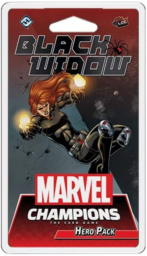 Marvel Champions LCG: Black Widow - Indigo Chase Specialties