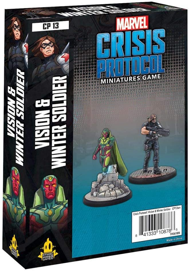 Marvel Crisis Protocol: Vision and Winter Soldier - Indigo Chase Specialties