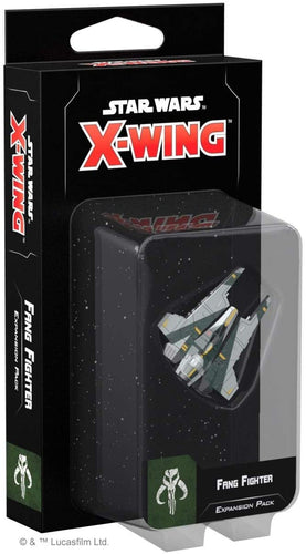 Star Wars X-Wing 2nd Edition: Fang Fighter Expansion Pack - Indigo Chase Specialties
