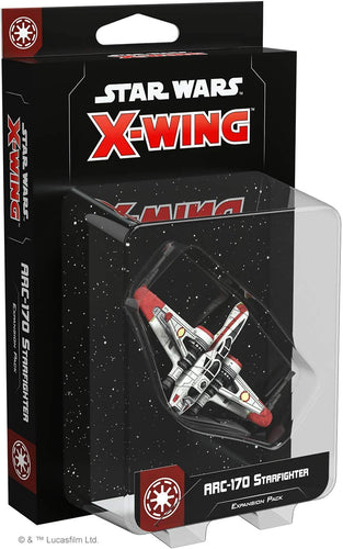 Star Wars X-Wing 2nd Ed: ARC-170 Starfighter Expansion Pack - Indigo Chase Specialties