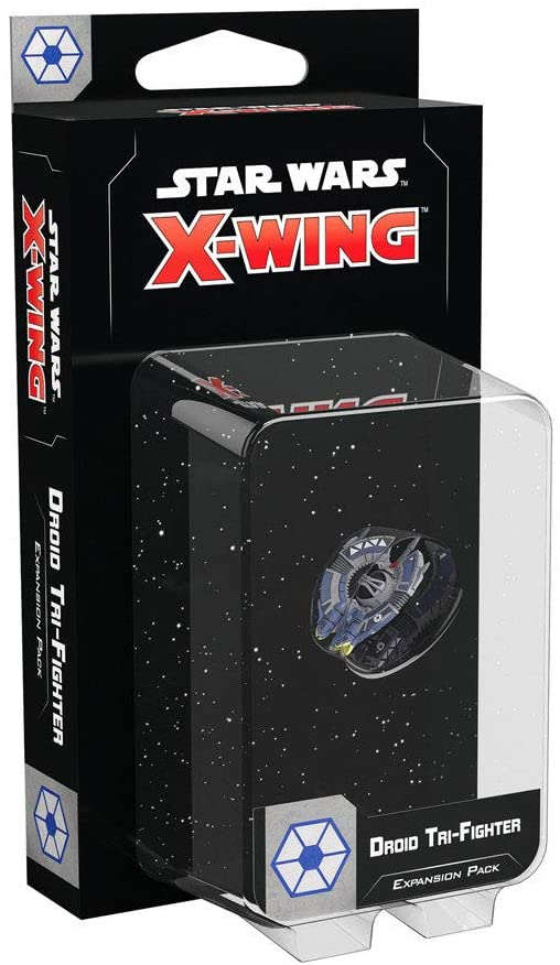 Star Wars X-Wing 2nd Ed: Droid Tri-Fighter - Indigo Chase Specialties