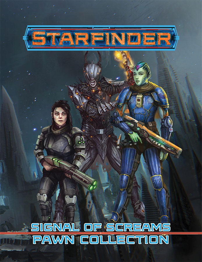 Starfinder RPG: Pawns - Signal of Screams Pawn Collection - Indigo Chase Specialties