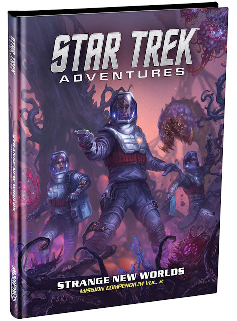 Star Trek Adventures RPG: Strange New Worlds - Mission Compendium Vol. 2 - Indigo Chase Specialties
