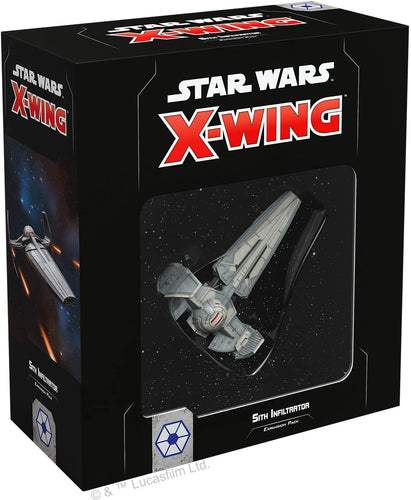 Star Wars X-Wing 2nd Edition: Sith Infiltrator Expansion Pack - Indigo Chase Specialties