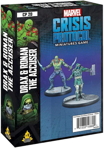 Marvel Crisis Protocol: Drax and Ronan the Accuser - Indigo Chase Specialties