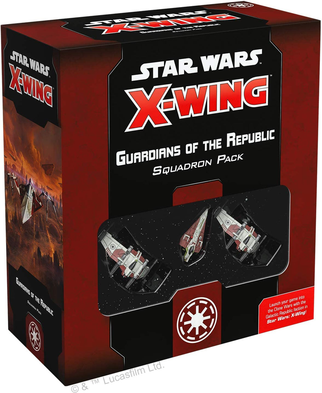 Star Wars X-Wing 2nd Edition: Guardians of the Republic Squadron Pack - Indigo Chase Specialties
