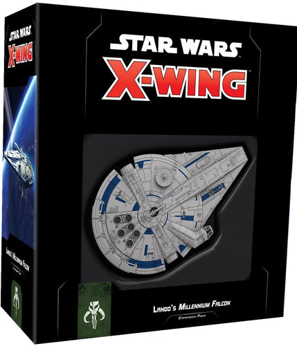 Star Wars X-Wing 2nd Edition: Lando's Millennium Falcon Expansion Pack - Indigo Chase Specialties