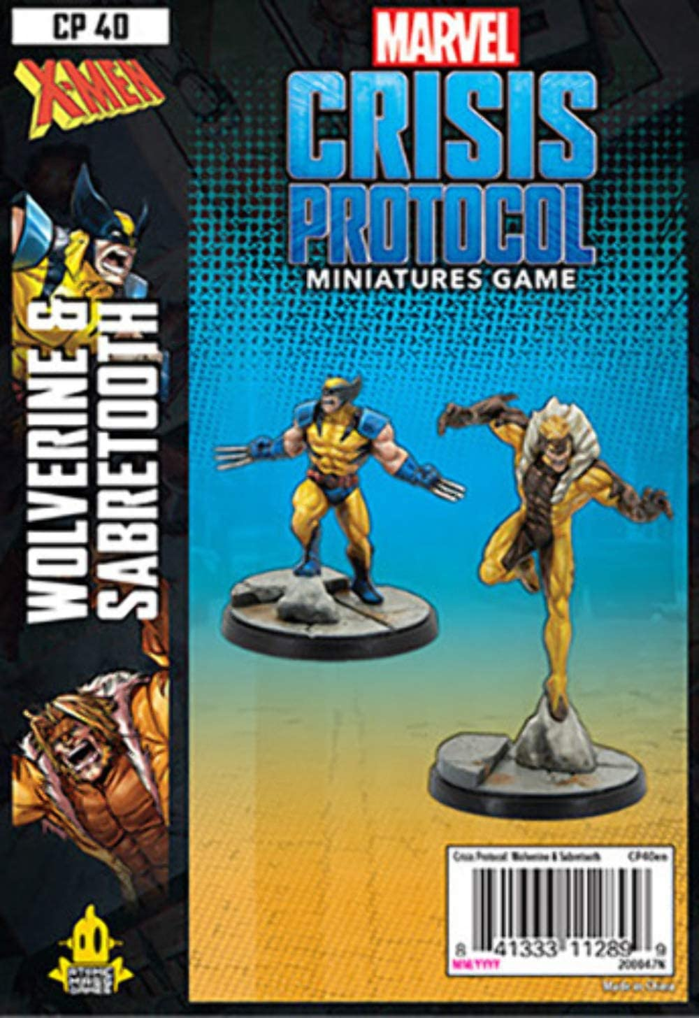 Marvel Crisis Protocol: Wolverine and Sabertooth - Indigo Chase Specialties