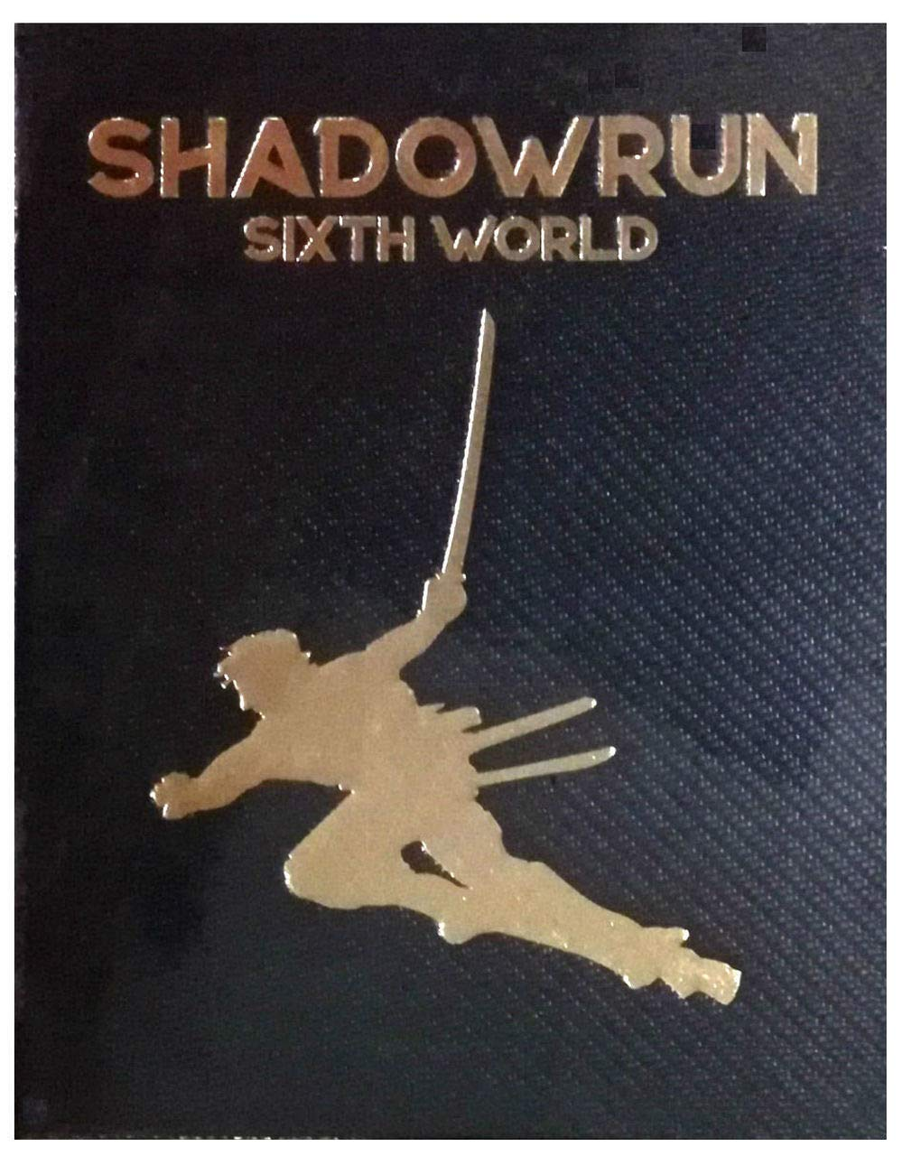 Shadowrun RPG: 6th Edition Core Rulebook Limited Edition - Indigo Chase Specialties