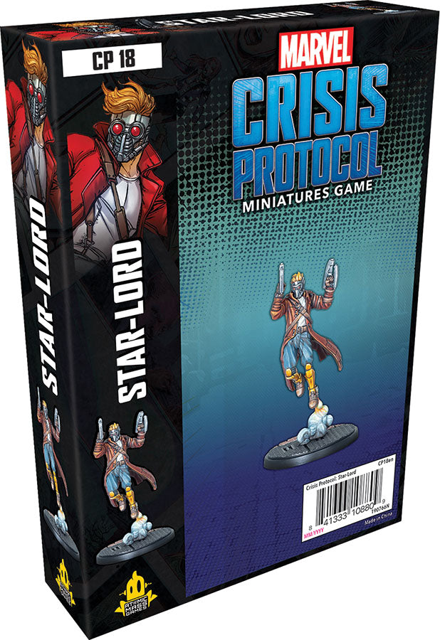 Marvel: Crisis Protocol - Star-Lord Character Pack - Indigo Chase Specialties