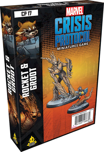Marvel: Crisis Protocol - Rocket and Groot Character Pack - Indigo Chase Specialties