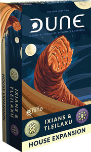 Dune Board Game: Ixians and Tleilaxu House Expansion - Indigo Chase Specialties