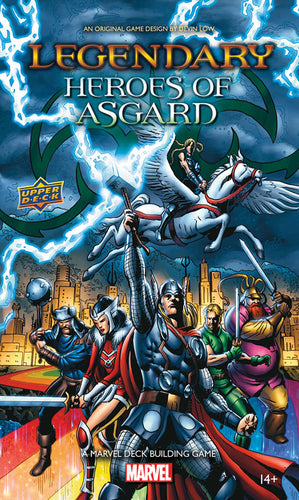 Legendary DBG: Marvel - Heroes of Asgard Expansion - Indigo Chase Specialties