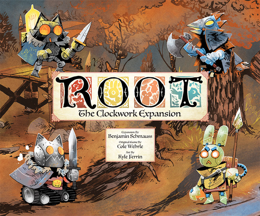 Root: The Clockwork Expansion - Indigo Chase Specialties