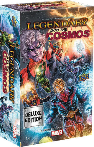 Legendary DBG: Marvel - Into the Cosmos Deluxe Expansion - Indigo Chase Specialties