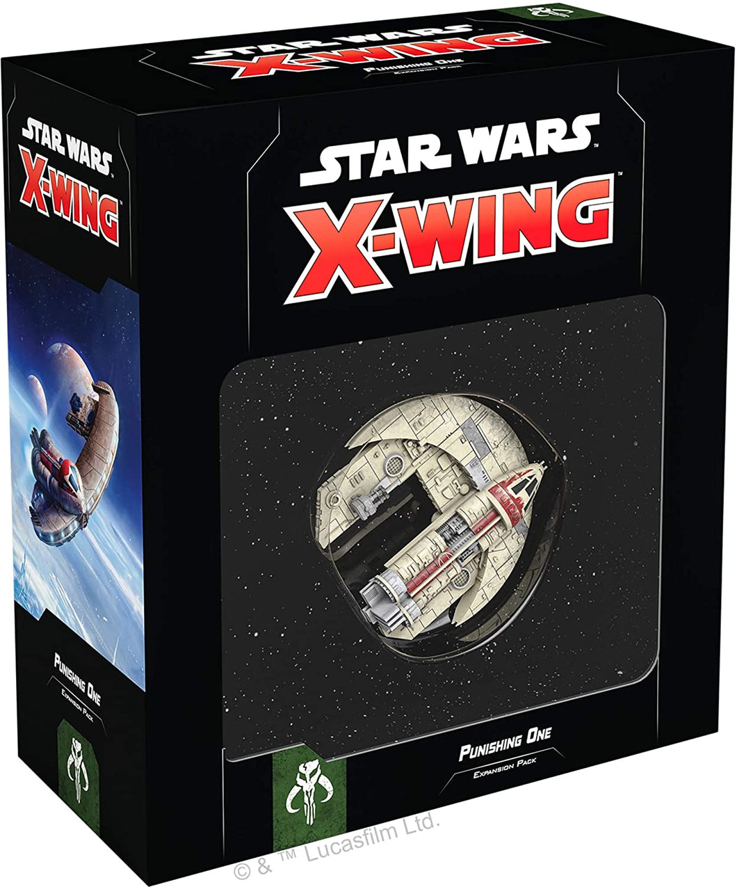 Star Wars X-Wing 2nd Edition: Punishing One Expansion Pack - Indigo Chase Specialties
