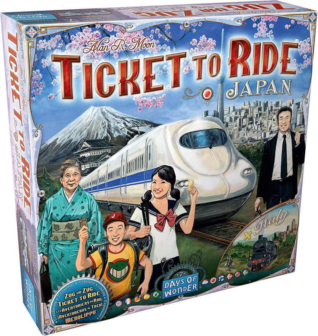 Ticket to Ride: Japan & Italy - Map Collection 7 - Indigo Chase Specialties
