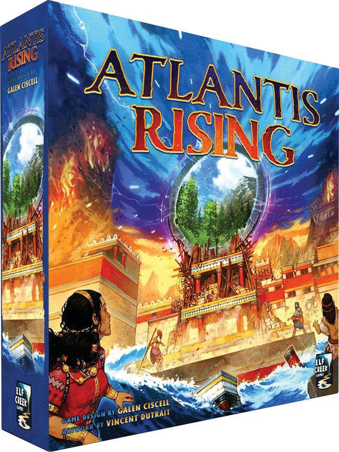 Atlantis Rising 2nd Edition - Indigo Chase Specialties