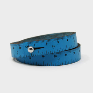 "Wrist Ruler - Blue - 17"" - Indigo Chase Specialties"